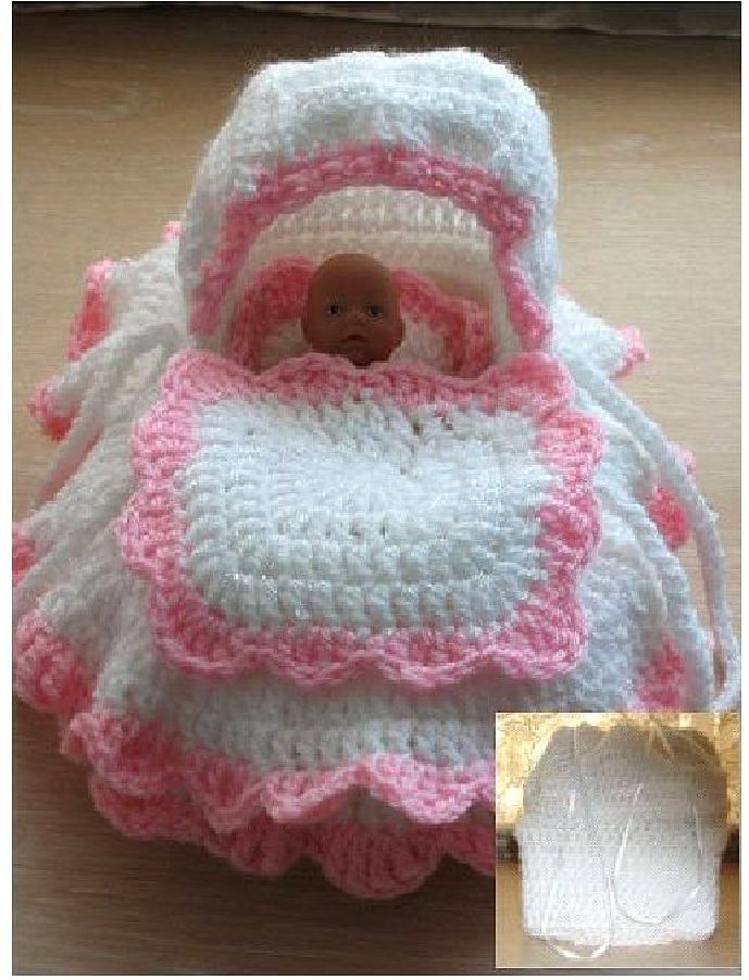 The Mini Cradle Bag Crochet Pattern Frandor Formats